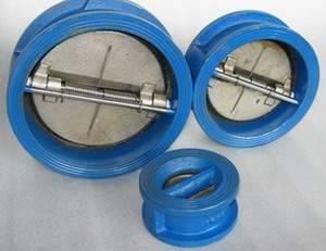 Клапан обратный двухстворчатый чугунный находит широкое применение при монтаже систем...