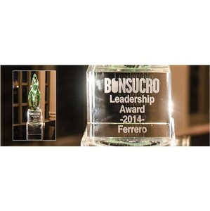 Ferrero получила награду Bonsucro Leadership Award 2014