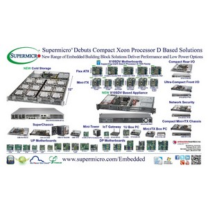 ������� �� Supermicro� ��������������� �� �������� Embedded World