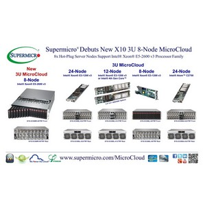 Supermicro� ������������ ����� X10 3U MicroCloud