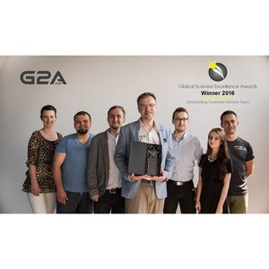 �������� G2a.com Limited ������� ������ Global Business Excellence Awards 2016